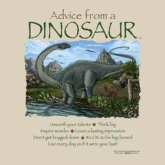 Advice from a Dinosaur T-shirt Earth Sun Moon Prehistoric S New with Tags NWT Adult Unisex size Small