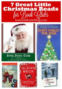 Seven Short Christmas Reads for Grown-ups. Perfect for book clubs!