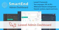 SmartEnd - Laravel Admin Dashboard - https://codeholder.net/item/php-scripts/smartend-laravel-admin-dashboard