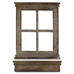 "Sizzix Bigz Tim Holtz Alterations Die "" Window & Window Box"" #13606033 Joann.com"
