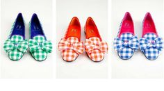 """""""preppy chic gingham shoes"""" --   *faints*"""