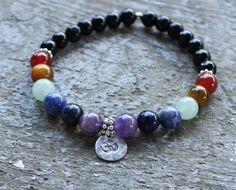 Hey, I found this really awesome Etsy listing at https://www.etsy.com/listing/193255295/preorder-7-chakra-bracelet-chakras