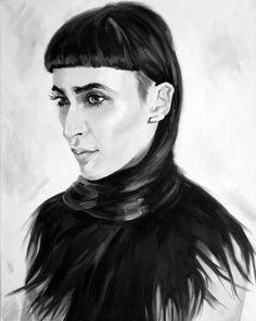 Scout Paré-Phillips Fine Art Print Artist  Model
