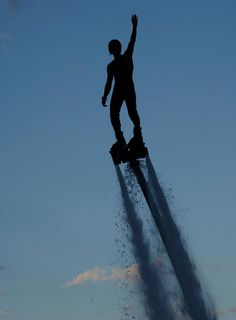Florida Flyboard silhouette