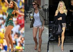 A Week's Worth of Gorgeous Legs: Jessica, Ashley and JLo Have Got Some Serious Stems | Strong is definitely the new sexy. #SELFmagazine
