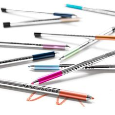 We're total suckers for Marc Jacobs Beauty's sweet new Highliner Gel Crayons. Get a taste of the Lollipop shade and other hues>