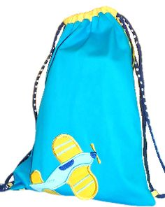 Sailboat Drawstring Bag - Toddler | Drawstring Bags By Little ...