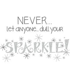 """Wall Pops Sparkle Wall Quote Decals, 23"""" x 15"""" at Joann.com"""