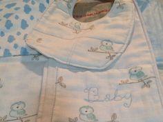 Baby Owl Layette by justforprettyshop on Etsy