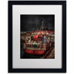 Trademark Fine Art Resting Canvas Art by Erik Brede, White Matte, Black Frame, Size: 11 x 14
