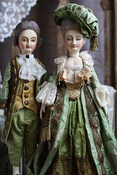 Old Dolls, Antique Dolls, Vintage Dolls, Historical Dress, Historical Clothing, Wedding Doll, Doll Home, Wooden Dolls, Antique Lace