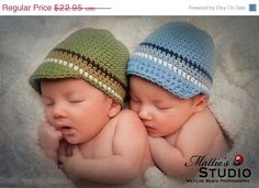 Limited Time Sale NEW 612 Month Crochet Beanie With by LovelyKnits, $18.36