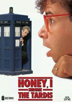 Honey I Shrunk the TARDIS, Matrix of Gallifrey on Facebook