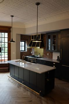 Brownstone Kitchen - Pureform Design Build LLC