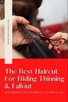 Discover the one haircut you can get to hide thinning hair and fallout, only on SheFinds.