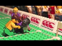 Canterbury Presents 78 Second's of Highlights from the 2012 Autumn Internationals in LEGO!