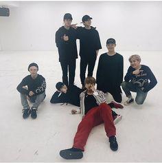 BTS Spring Day dance practice
