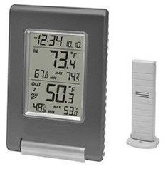 WS9080 Wireless Indoor/Outdoor Weather Station w/One Sensor