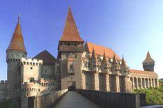 Hunedoara, Romania  Hunedoara castle, considered the greatest fortress in Romania.
