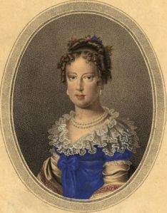 D. Leopoldina, por Jean Françoise Badoureau