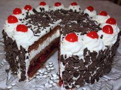 Schwarzwald torta - posna ~ Najsladji blog