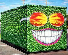 street art Derek Donnelly for ShineOnStPete in Saint Petersburg, Florida