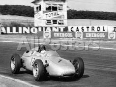 Dan Gurney Driving a Porsche, French Grand Prix, Rheims, 1961 Transportation Photographic Print - 61 x 46 cm Porsche 911 Rsr, Porsche Cars, Grand Prix, Dan Gurney, Drive A, Vintage Race Car, F1 Racing, Formula One, Race Cars
