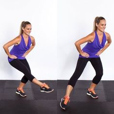 Exercise and Fitness: 10 Fat Blasting Home Exercises For Sexy Tighter Thinner Thighs. Thin Thighs Workout, Butt Workout, Fitness Motivation, Fitness Tips, Pilates, Thinner Thighs, Thick Thighs, Shape Magazine, After Workout