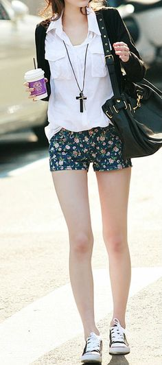 #Korean #fashion 2014. Inspiration for summer. Lively combination. Love it!