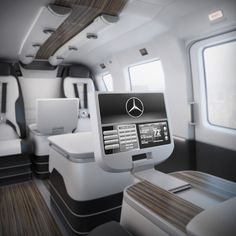 Mercedes-Benz Style Luxury Helicopter Interior l in . High detailed model of The Mercedes-Benz Style Luxury Helicopter Interior Source link Luxury Van, Luxury Jets, Luxury Private Jets, Private Plane, Luxury Life, Mercedes Benz, Mercedes Sprinter, Private Jet Interior, Yacht Interior