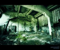 Abandoned Industrial Building Photography..  ...<<>>....Nims....<<>>