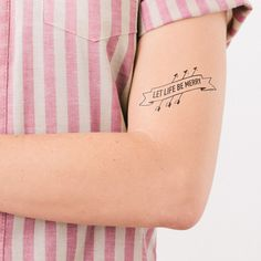 Robin Hood | 21 Literary Temporary Tattoos Every Book Lover Needs