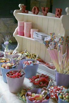 Vintage sweet stall