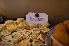 Cute as a button theme food cards and so many good ideas on this blog