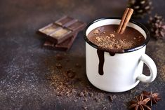The secret code of America's most iconic hot chocolate recipe, somewhat cracked Hot Chocolate Recipes, Melting Chocolate, Ursula, Wine Names, Cacao Nibs, Homemade Vanilla, Bakery Recipes, Good Enough To Eat, Clean Eating Snacks