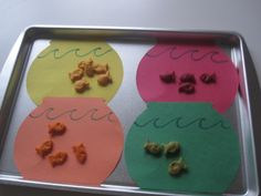 Snack Match - Learning Colors