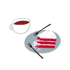 cafe on Behance