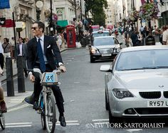 Cycling Style ~ Jermyn Street (London)