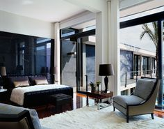 elegant bedroom from Oito em ponto