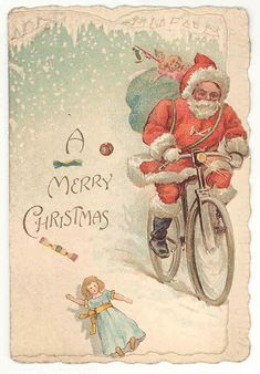 Father Christmas through the Ages: A Christmas Card from 1890