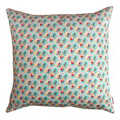 Floral Cushion Pink - 3 Sizes