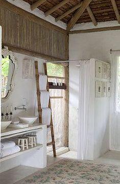 Casas Branca, Casas da Vila Boutique Hotel Trancoso Brazil - Best Home Decorating Ideas - Easy Interior Design and Decor Tips Bad Inspiration, Bathroom Inspiration, Bathroom Ideas, Bath Ideas, Bathroom Styling, Style At Home, Tropical Bathroom, Bohemian Bathroom, Bathroom Luxury