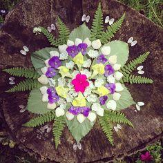 Nature Mandala by Kirsten Rickert kirstenrickert.com