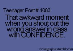 this happens to me a lot.