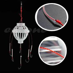 New Hot Fishing Tackle Sea Fishing Box Hook Monsters with Six Strong Fishing Hooks