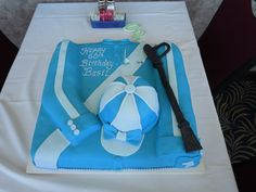 Jockey cake made by Becky Teague Green