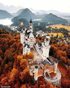 Neuschwanstein Castle, Germany - 9GAG