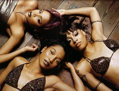 TLC: I sooo love these ladies.... TLC is my favourite girl group ever... I love their songs and their individual styles. This is the only group i think, where no one person is better than the other, or where one person doesn't stand out more than the other. Love u all T-boz & Chilli... RIP Left Eye....