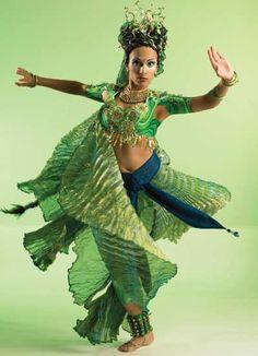 Oceane-Tara Catherine Pandeya, Kathak dance in Dralion. Melts eyeballs.