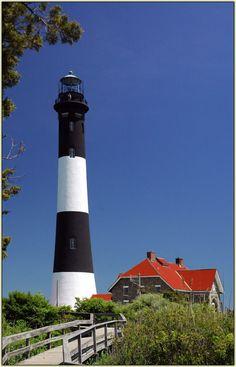Lighthouse, Fire Island, N.Y.